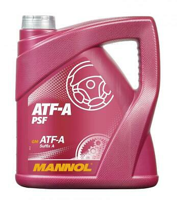 MANNOL ATF-A/PSF 4L POWER STEERING FLUID 4 litre ALLISON C3, CATERPILLAR TO-2