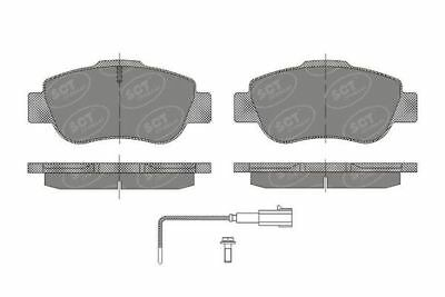 Front Brake Pads for Fiat, Ford, Citroen