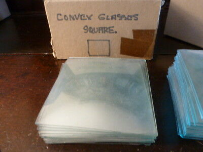 Square convex clock glass spare parts unused (3)