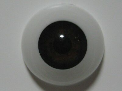 Reborn doll eyes 18mm Half Round CAROB