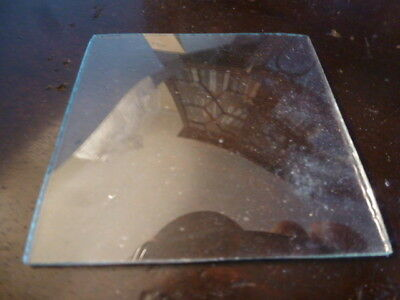 Square convex clock glass spare parts unused (11)