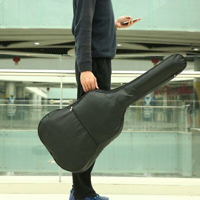 Waterproof Nylon Acoustic Guitar Gig Bag Soft Cover with Adjustable Strap RRO