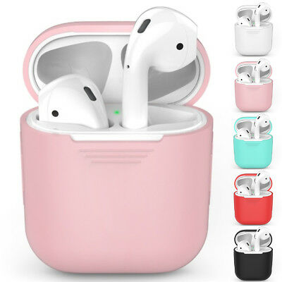 Silicone Case Cover Shockproof Protective Skin for Apple AirPods Airpod Charging
