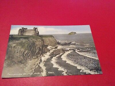 1964 Tantallon Castle And Bass Rock ,north Berwick Postcard