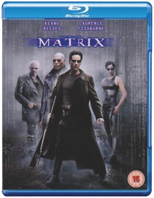 Keanu Reeves, Laurence Fish...-Matrix Blu-ray NEW