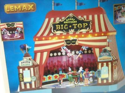 Brand New! 2015 Lemax Carnival Berry Brothers Big Top 55918, Lights Motion Music