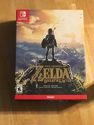Legend of Zelda: Breath of the Wild - Special Edition(Nintendo Switch) Brand New