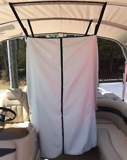 PONTOON BOAT EASY Up Privacy Partition Enclosure 30