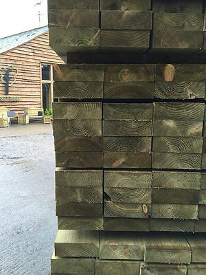 Treated 20' 9x3 purlins C16 graded
