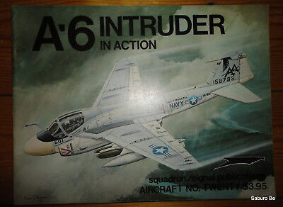 A-6 INTRUDER in ACTION 20  SQUADRON SIGNAL PUBLICATIONS