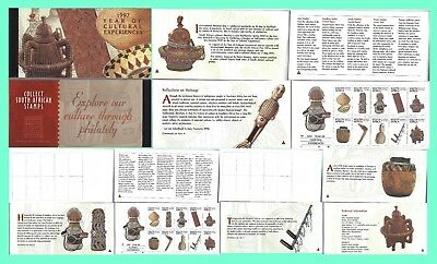 South Africa 1997 Cultural Experiences Booklet Complete Sets & Postcards 0008Fdc