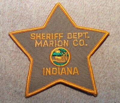IN Marion County Indiana Sheriff Patch