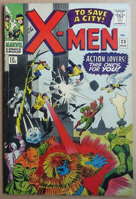 X-Men #23, A Silver Age Marvel Classic, 1966, Fn.