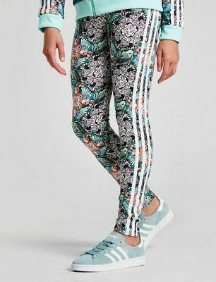Girls Adidas Originals Zoo Leggings - Bnwt Ages  3-14 Years  70 Sold   Rrp £22