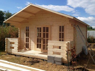 Garden CABIN HOMES & DRY TIMBER BATH-HOUSES (PREFABRICATED HOUSING KITS)