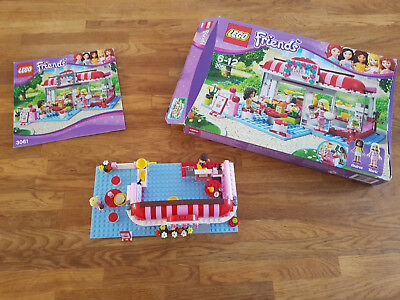 Lego Friends 3061 City Park Café Boite Et Notice Eur 1250