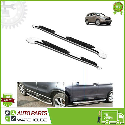 Honda CRV 2007-2012 Aluminium Side Running Boards Bar Steps OEM Protection -M219