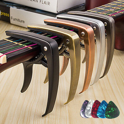 Guitar Capo Quick Release Aluminium Metal Trigger for acoustic or Electric Banjo