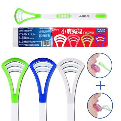 HOT Toothbrushes Health Cleaning Oral Cleaner Tongue Scraper Dental Hygiene