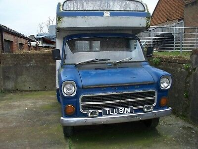 Ford Transit Mk1 Camper, 1974 Solid Winter project