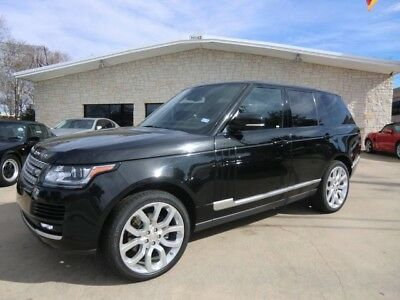 2014 Land Rover Range Rover  1 OWNER 2014 RANGE ROVER HSE . NEEDS ENGINE REPAIR . NO RESERVE .