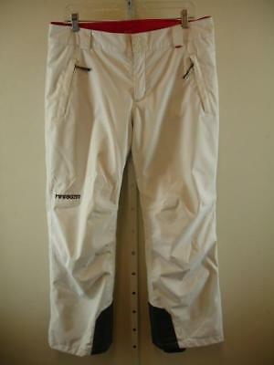 2f8a3702423 Womens sz L Marker White Ski Snowboard Winter Pants Stretch Waterproof  Insulated