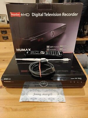 Humax HDR-FOX T2 1TB Freeview+HD Digital Recorder - Includes WiFi adapter