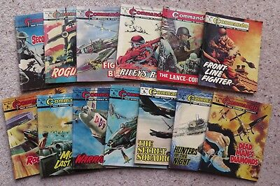 Commando War Stories in Pictures - 13 titles all in very good condition.