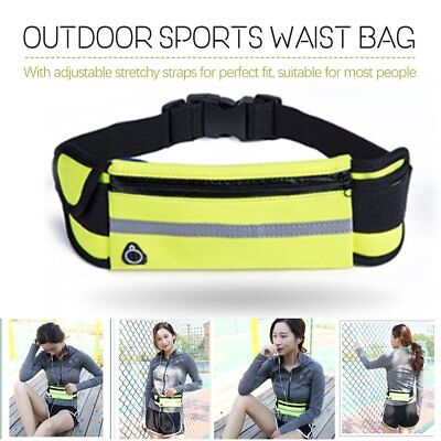 Running Bum Bag Fanny Pack Travel Waist Bags Money Belt Pouch Sports Wallet LI
