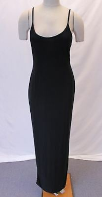 7071da8c5d1 boohoo Women s Plus Leah Slinky Strappy Maxi Dress SV3 Black Size US 12 NWT