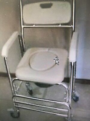NEW Commode on wheels