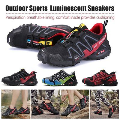 Men's Running Shoes Speed 3 Athletic Outdoor Sports Hiking Sneakers LI