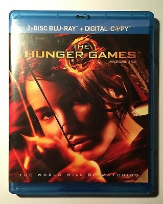 The Hunger Games Movie (Blu-ray Disc, 2012, 2 disc-set, Canadian)
