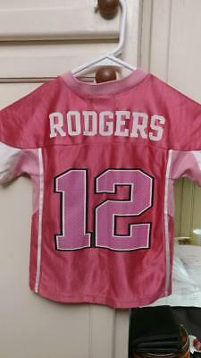 Pre-Owned Nfl Green Bay Packers Aaron Rodgers  12 Jersey Kids Size 4T 2d4d55b96