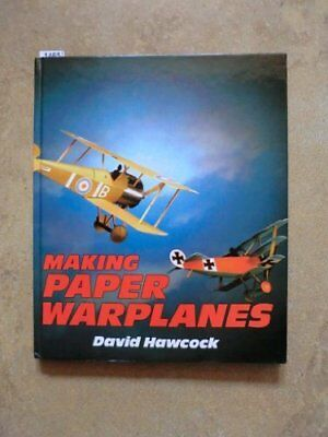Paper War Planes by Hawcock, David Hardback Book The Cheap Fast Free Post