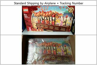 LEGO 80102 Chinese New Year Dragon Dance 2019 + Standard Shipping + Tracking #