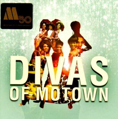 Various Artists - Divas Of Motown - Various Artists CD P6VG The Cheap Fast Free