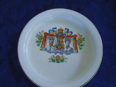 King George V Silver Jubilee baby's plate