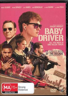Baby Driver - Kevin Spacey - New & Sealed Region 4 Dvd