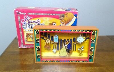 BEAUTY and The BEAST Disney Pin Memorial Pin set 6 Pins New in Box JAPAN EXCLUS