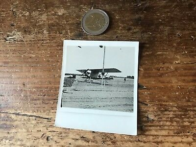 photographie ancienne avion N 98