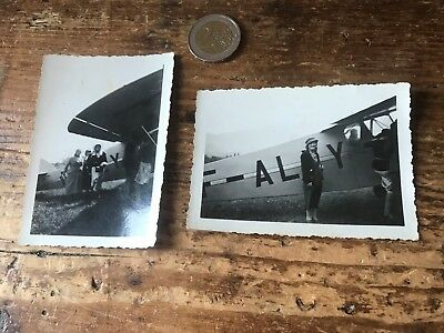 photographie ancienne avion N 61