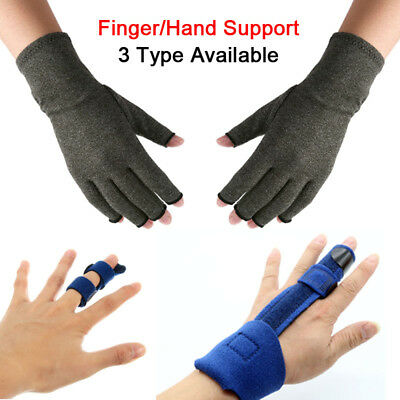 Finger Hand Arthritis Splint Joint Support Brace Protection Fracture Pain Relife