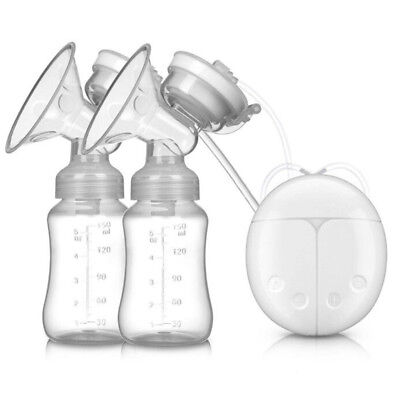 Electric Breast Pump USB Charing Double Automatic Massage Suction Baby Feeder AU