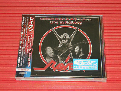 RAVEN Screaming Murder Death From Above  Live In Alborg JAPAN CD