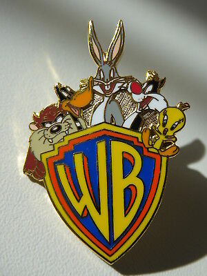 Warner Brothers PIN von 1998 mit Daffy Duck, Buggy Bunny, Sylvester, Tweety, TAZ