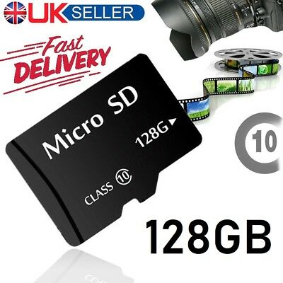 128GB Micro SD Card Class 10 TF Flash Memory SDHC For Phone Tablet