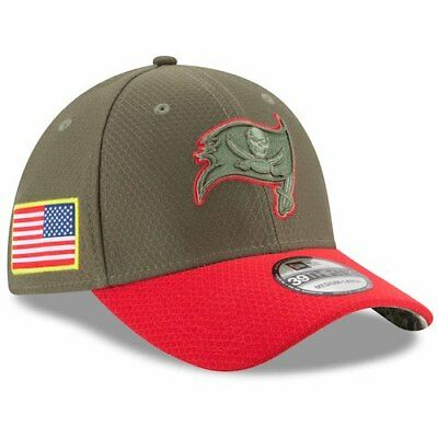 Tampa Bay Buccaneers New Era 2017 Salute To Service 39THIRTY Flex Hat -  Olive 57f593339
