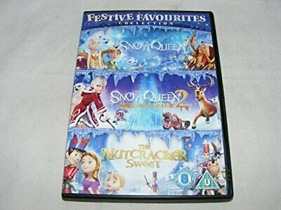 Festive Favourites Collection The Snow Queen / The Snow Queen 2 /... - DVD  Q1LN