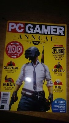 PC Gamer Annual 2019, 164 pages, good condition.